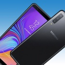SAMSUNG GALAXY A7 2018 SM-A750F 64GB BLACK