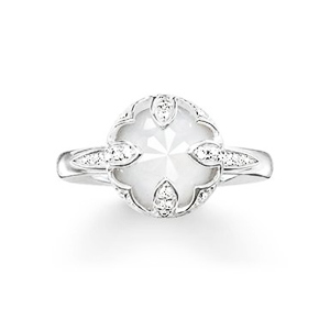 THOMAS SABO GLAM & SOUL  THE PURITY OF LOTOS RING