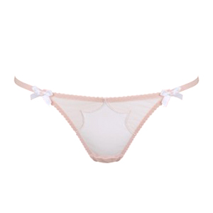 Agent Provocateur Lorna Thong Nude And White size s